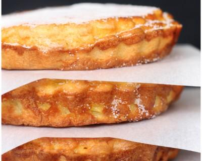 Tarte au sucre toute simple à la fleur d'oranger