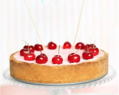 Cheesecake «Le temps des cerises»
