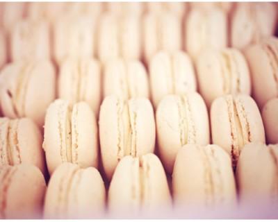 Défi de l'année {Pièce montée de macarons en sphère !}