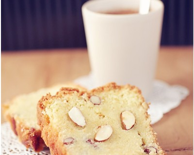 English break * Butter cake aux amandes *