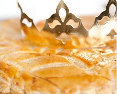 Galette des rois crème d'amande à la poire et épice douce