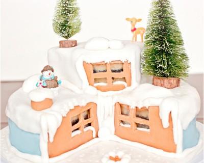 Wonderland cake : quand mon gâteau de fêtes s'illumine