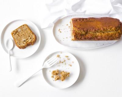 Pain d'épices aux écorces d'orange, miel et rapadura